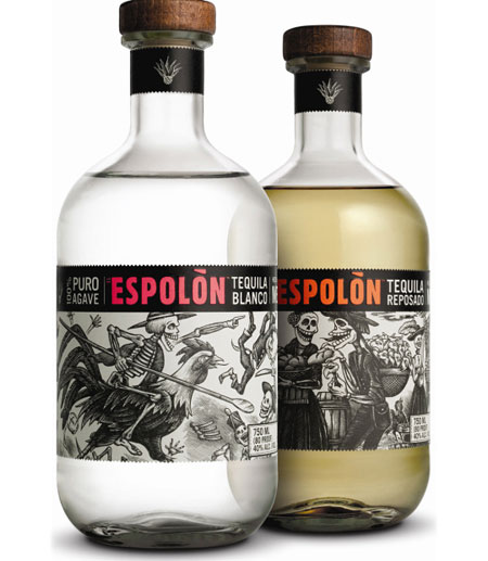 Espolon Tequila label