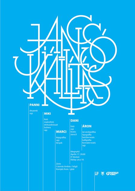 Jancsó Kiállítás: exhibition poster