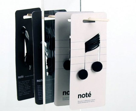 Noté: packaging concept