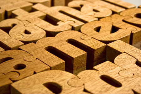 Nuzzles: Wooden Name Puzzles