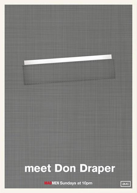 Mad Men minimalist posters
