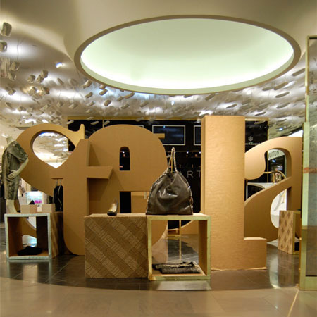 Pop-up store for Stella McCartney by Giles Miller