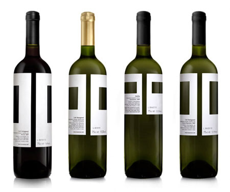 Manaresi wine labels