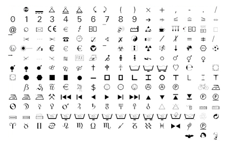10 free and useful Dingbats fonts