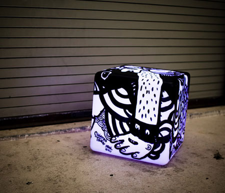 Vinyl Cube by Chairman Ting