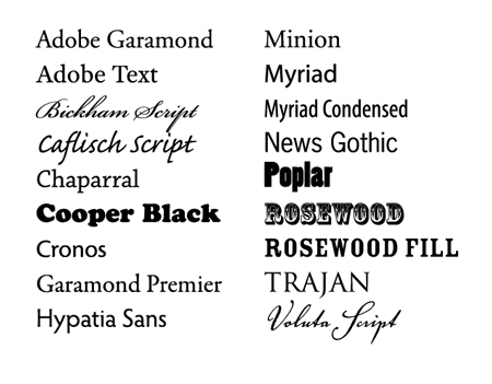 Adobe fonts are coming to Typekit