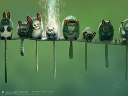 Strange Creatures by Imaginism Studios