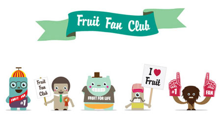 Fruit Fan Club by Luke Elliott
