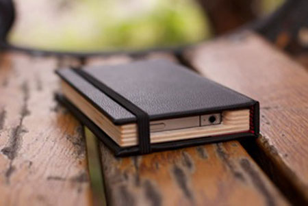iPhone 4 notebook case