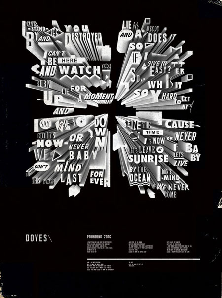 Doves lyric posters