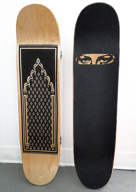 Prayer & Burka board