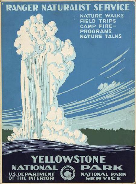 Vintage U.S. Parks Posters