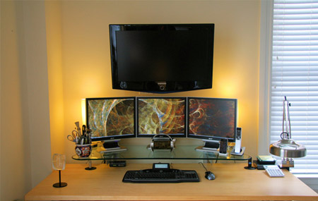 30 Enviously Cool Home Office Setups | Design blog