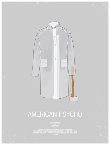 Movie posters inspired by men's style