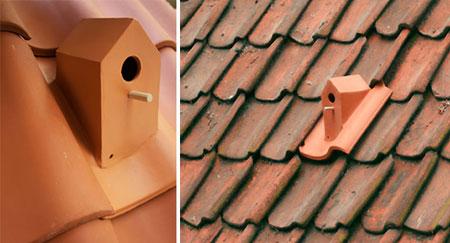 Roof birdhouse concept by Klaas Kuiken