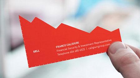 Financial services business card colourmoves