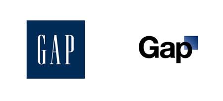 The Gap logo redesign disaster