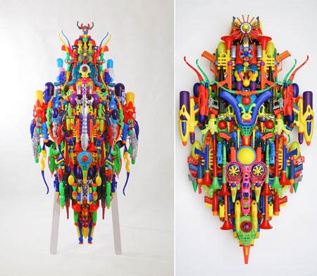 Sculptures by Hideki Kuwajima