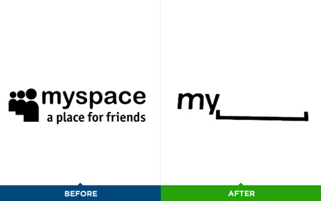 What do you think about the new myspace logo?
