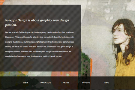 Graphic Design Web Portfolio Examples