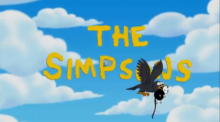 The Simpsons intro by Banksy