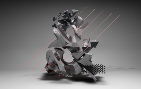 3D typography by Stuart Wade
