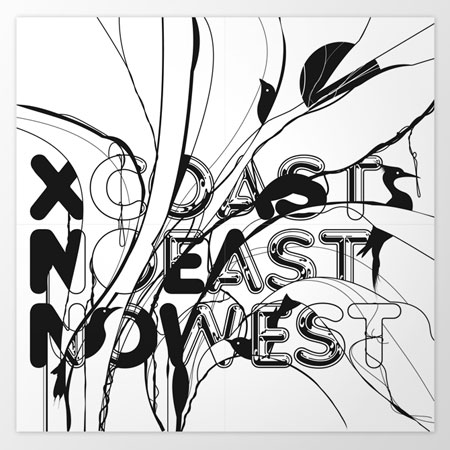 "CD packaging for ""No East No West"""