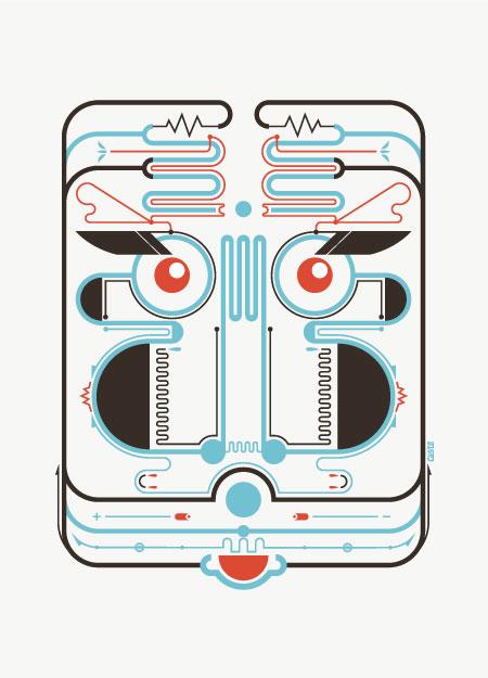 Robots by Leandro Castelao