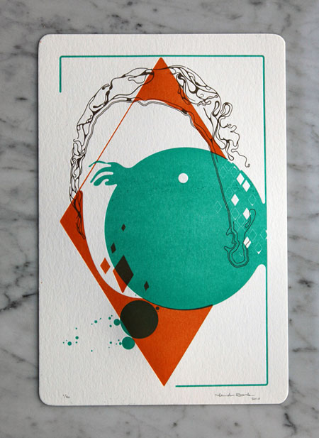 Letterpress Portrait Series by Nando Costa