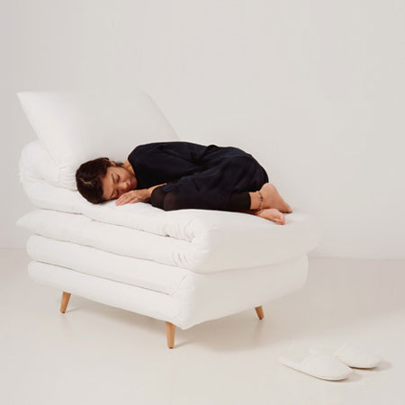 Sleepy Chair by Daisuke Motogi Architecture