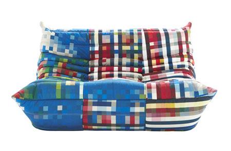 Pixel Furniture By Cristian Zuzunaga