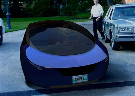 Urbee Hybrid: the World's First 3-D Printed Car