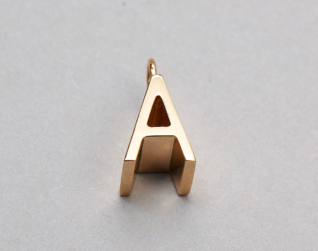 The Alphabet jewellery collection