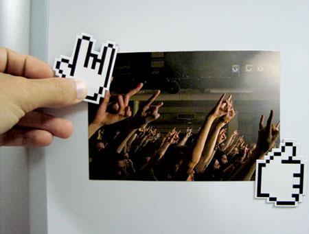 Geek magnet hands