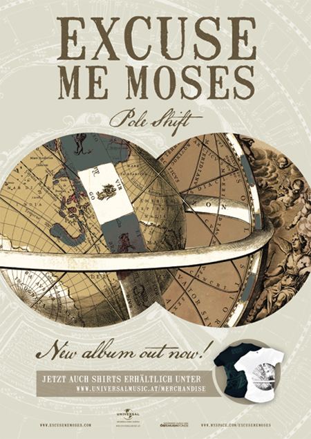 """Excuse me Moses"" album art"