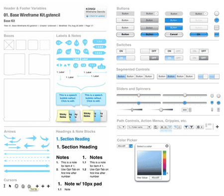18 free UI elements packs for your web designs and apps - Designer ...