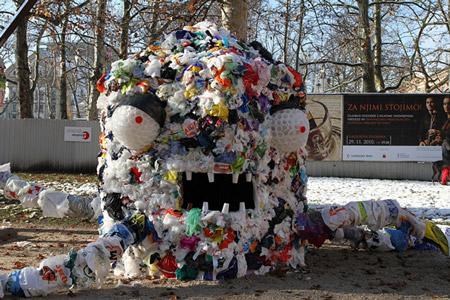 The plastic bag monster