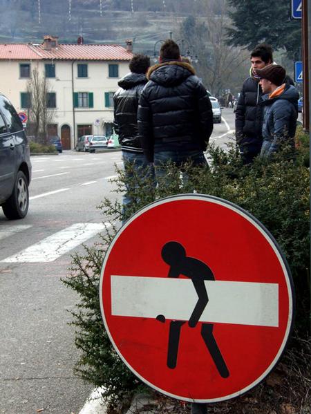Street art from Italy