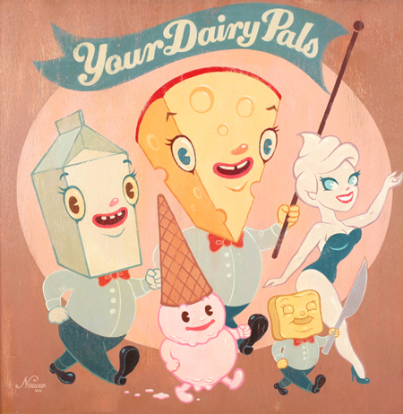 Your dairy pals