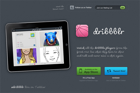 14 iPad apps websites with a gorgeous design