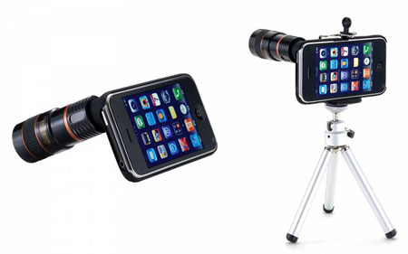 iPhone eye scope
