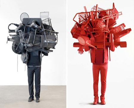 Daniel Firman at galerie Emmanuel Perrotin