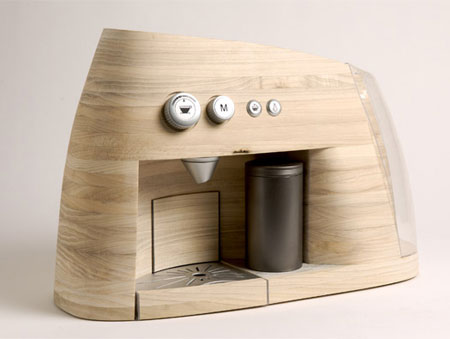 Gorgeous wooden Espresso machine