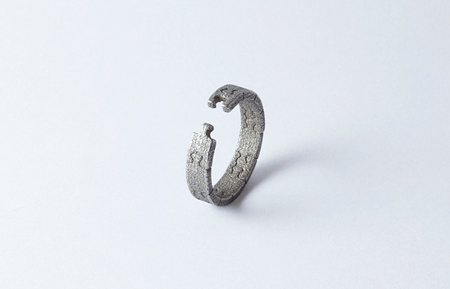 I miss you ring by Marina Noronha