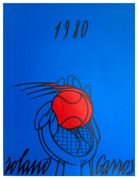 30 years of Roland Garros posters