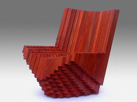 tlf08 Chair by Tobias Labarque