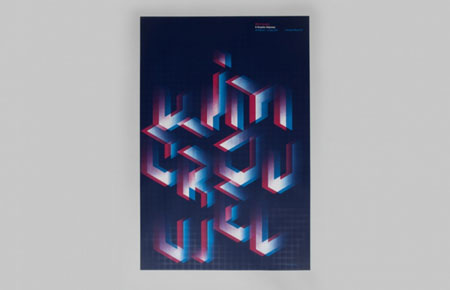 Limited edition set of posters inspired by Wim Crouwel