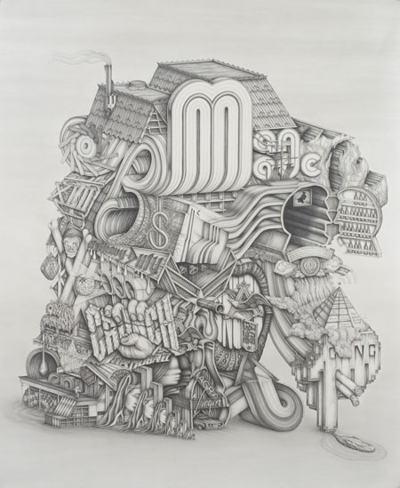 Pencil illustrations by Frank Magnotta