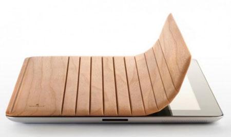 Miniot Wood iPad2 Cover