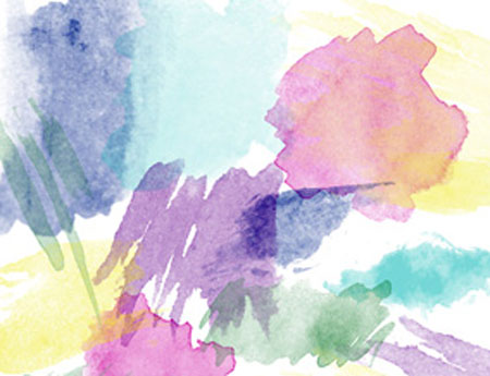 10 sets of watercolour brushes for Photoshop